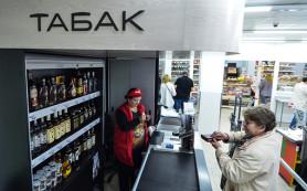 Алкоголь и табак хотят убрать с касс супермаркетов