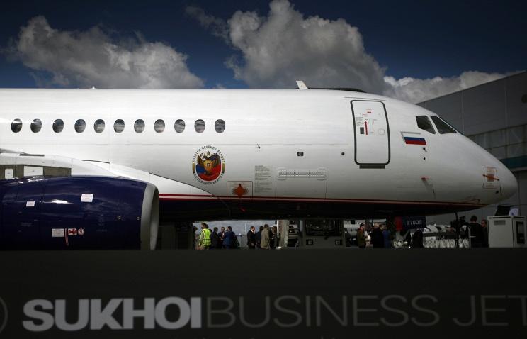 Объем контрактов по Sukhoi Superjet 100, заключенных на МАКС-2015, превысил $1 млрд
