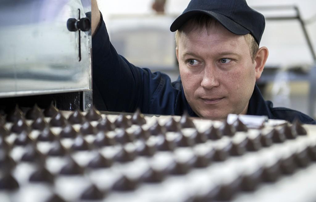 В России резко сократилось производство шоколада и шоколадных конфет
