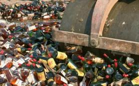В РФ будут уничтожать не только нелегальный алкоголь, но и оборудование для производства