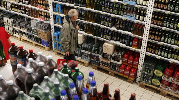 «Опора России»: с 1 января возможны перебои с алкоголем