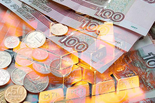 ЦБ пожалел золота для поддержки рубля