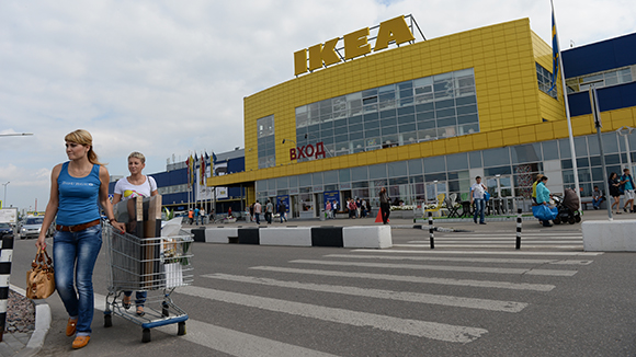 «Икея» хочет увеличить долю российских товаров