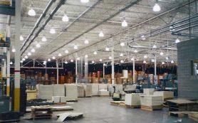 Применение светодиодов в промышленном освещении