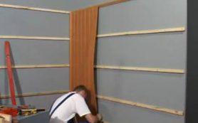 Обшивка стен ПВХ-панелями