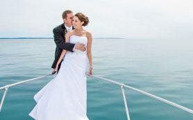 Свадебное торжество на теплоходе – оригинальная романтика для влюбленных