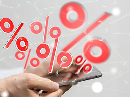 Максимальная ставка топ-10 банков по рублевым вкладам снизилась до 8,29%