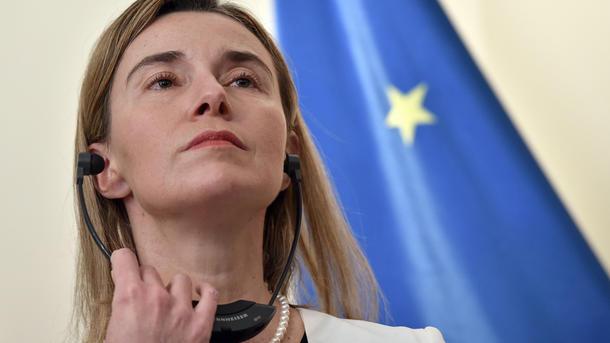 Могерини заявила о единстве позиции ЕС и США по санкциям против России