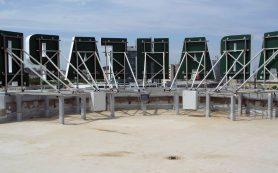Крышная установка от компании АМС Принт