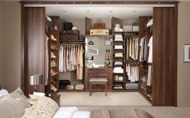 Лучшие дизайны шкафов и гардеробов