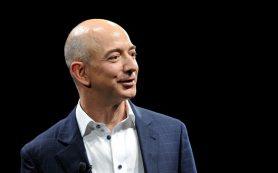 Безос продал еще 1 млн акций Amazon