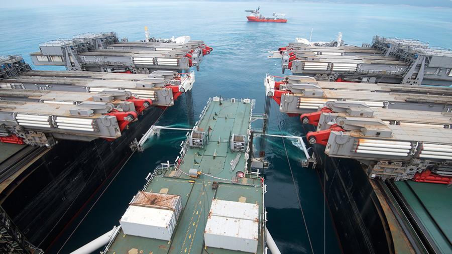 Газопровод «Турецкий поток» достиг турецкой экономической зоны