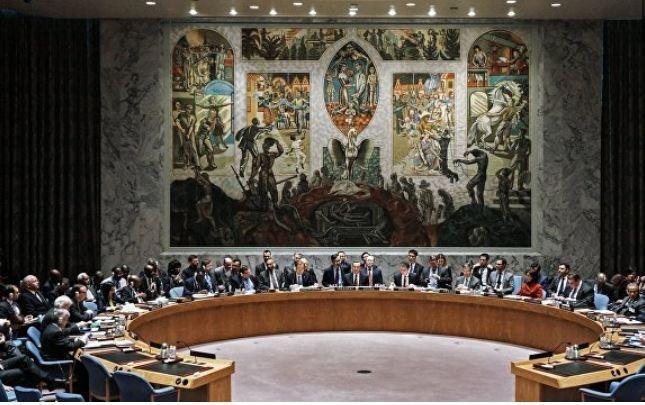 Запад приступил к операции по выведению РФ из Совбеза ООН