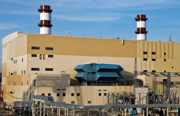 Ростех подтвердил выход двух ТЭС в Крыму на полную мощность летом 2018 года