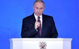 Песков: Путин заявит о своей позиции по пенсионному законопроекту в телеобращении