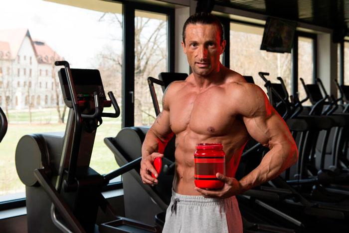 Спортивное питание при работе на рельеф мышц