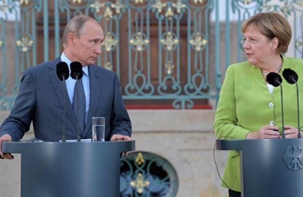 Песков поведал, как прошли переговоры Путина и Меркель