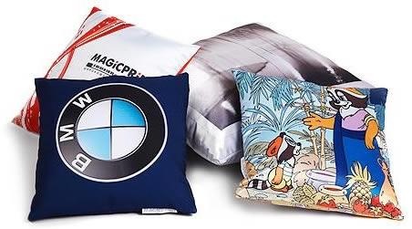 Фото на ткани как вариант рекламы