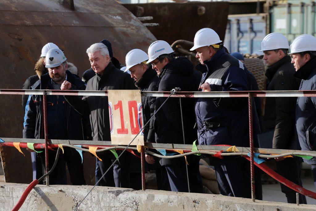 Собянин дал старт строительству Коммунарской линии метро
