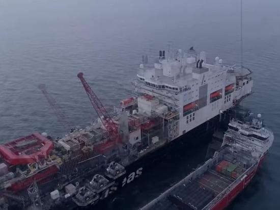 США дали месяц подрядчикам «Северного потока-2» на остановку работ