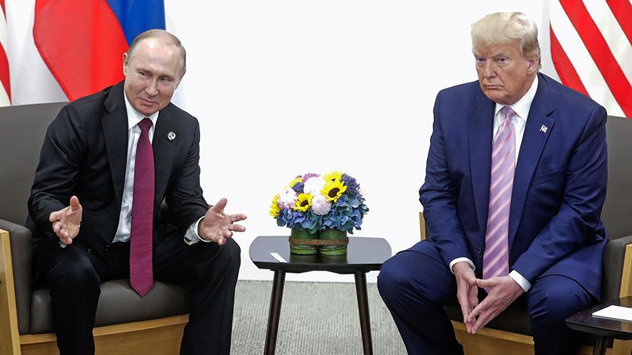 В Белом доме рассказали детали телефонного разговора Трампа и Путина