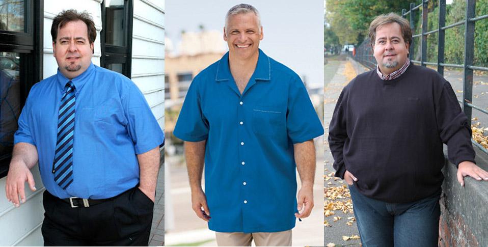 Как выбрать повседневную одежду для мужчин с солидными размерами