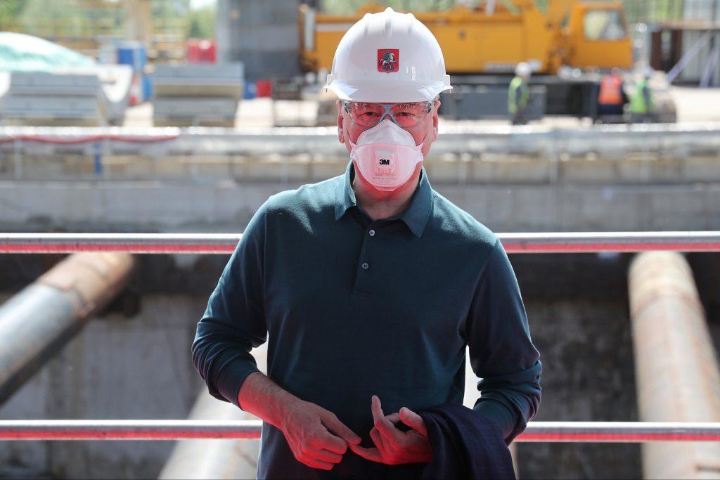 Собянин рассказал о строительстве метро в период пандемии коронавируса