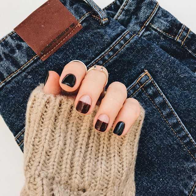 Маникюр на маленьких ногтях