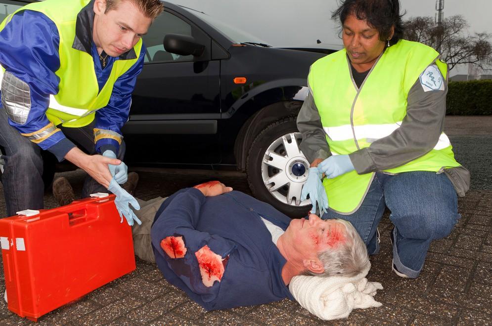Телесные повреждения после ДТП в Польше
