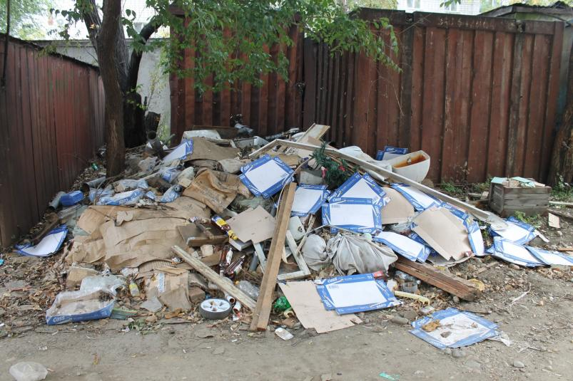Уборка мусора после капитального ремонта
