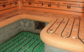 Тёплые полы в банные помещения