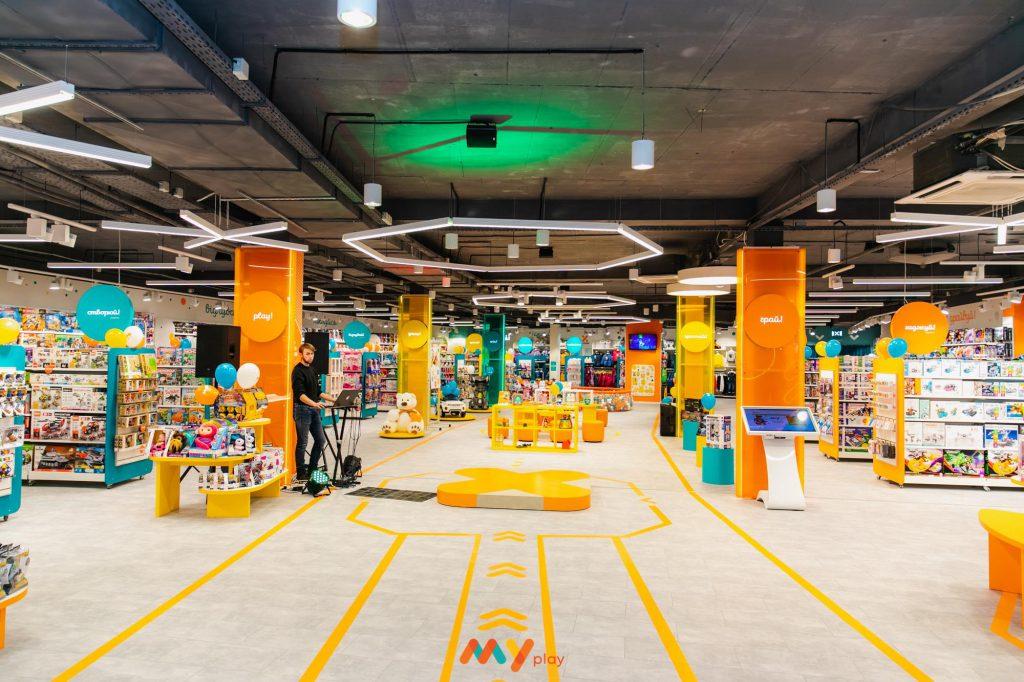 Детские игрушки в интернет-магазине MYPLAY: территория радости