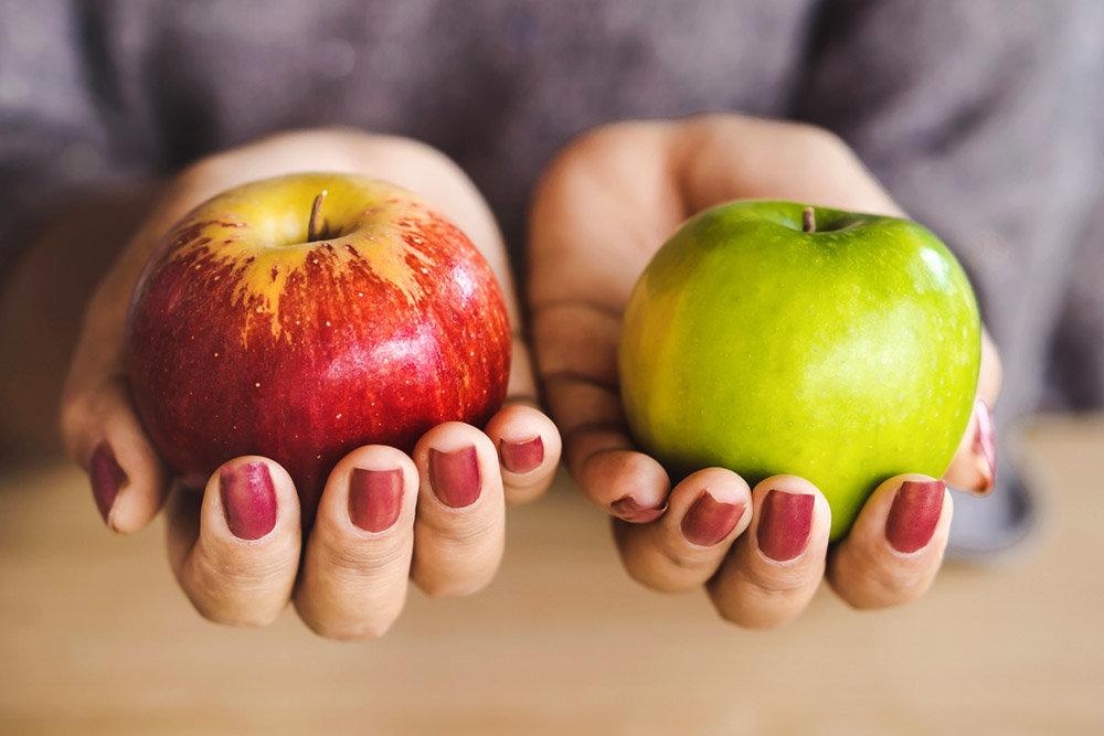 Роспотребнадзор рекомендовал не есть много яблок людям с ожирением