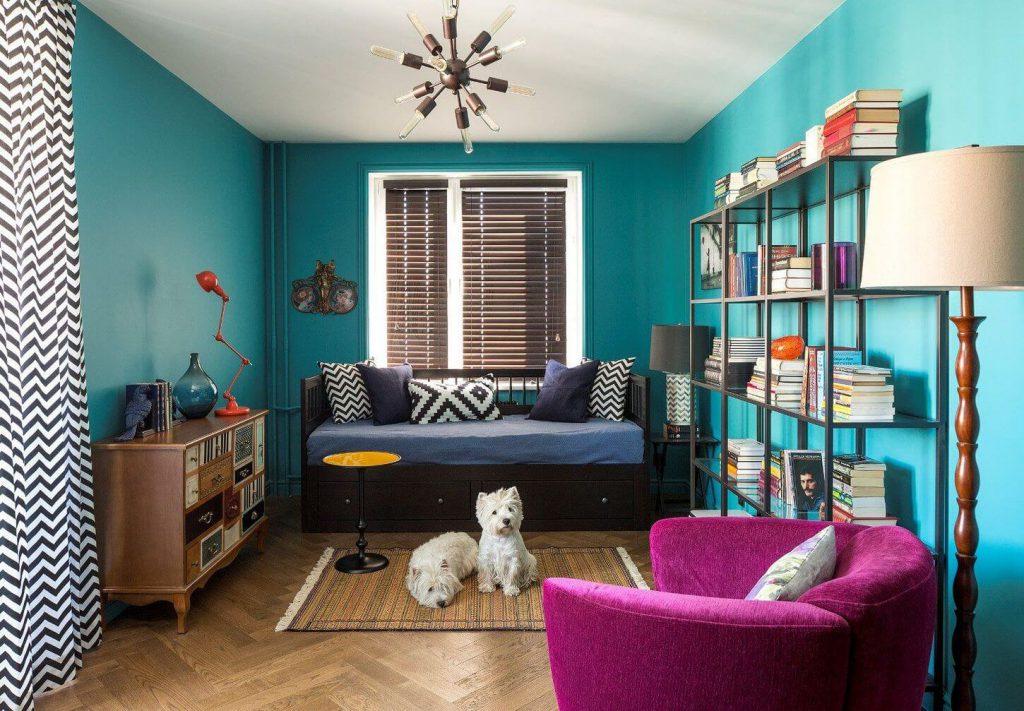 Самые популярные варианты отделки стен: обои, покраска, декоративная штукатурка
