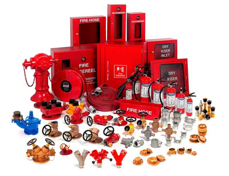 Пожарное оборудование для жилых и административных зданий