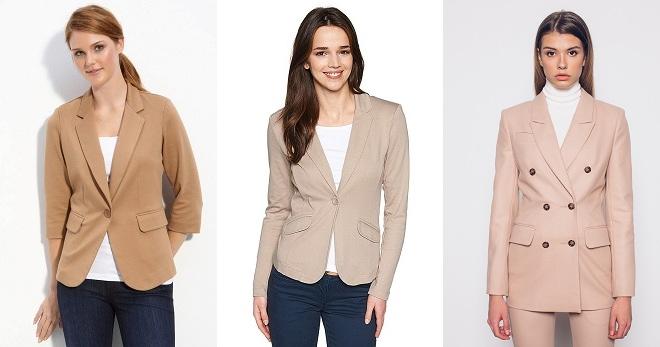 Женский пиджак — основа модного гардероба
