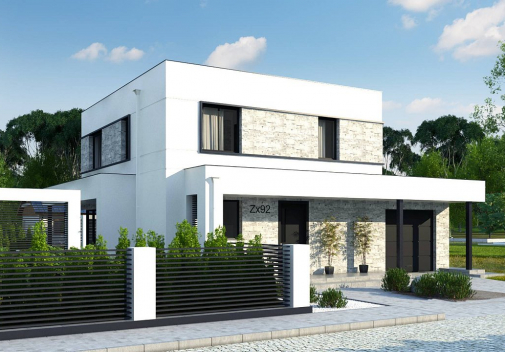 Проекты двухэтажных домов от Dniprobud в Украине
