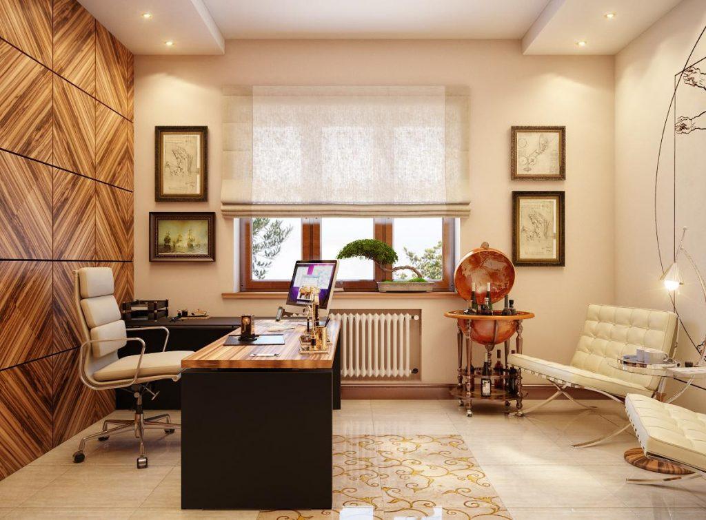 В каких стилях принято сегодня оформлять кабинеты руководителей
