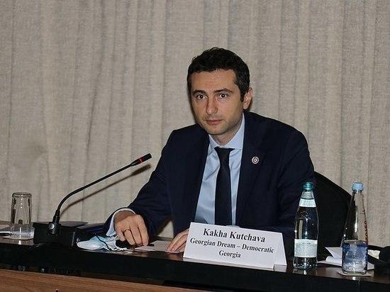 Кахабер Кучава избран новым председателем грузинского парламента