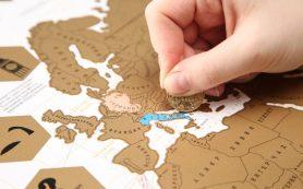 Скретч-карты для любителей путешествовать