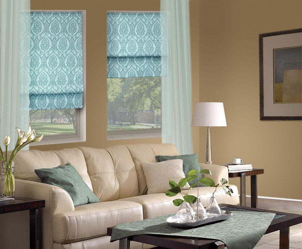 Римские шторы – идеальное оформление окна
